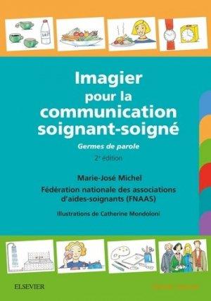 Imagier pour la communication soignant-soigné - elsevier / masson - 9782294756153