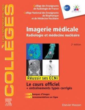 Référentiel Collège de Imagerie médicale - elsevier / masson - 9782294772245