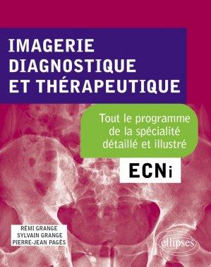 Imagerie, Diagnostique et Thérapeutique ECNi - ellipses - 9782340025394 -