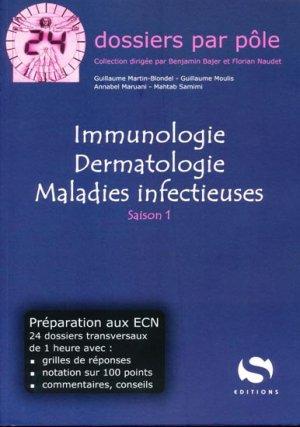 Immunologie Dermatologie Maladies infectieuses - s editions - 9782356400468