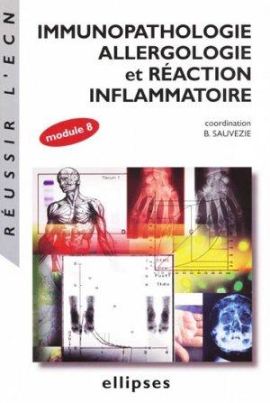 Immunopathologie allergologie et réaction inflammatoire - ellipses - 9782729817961 -
