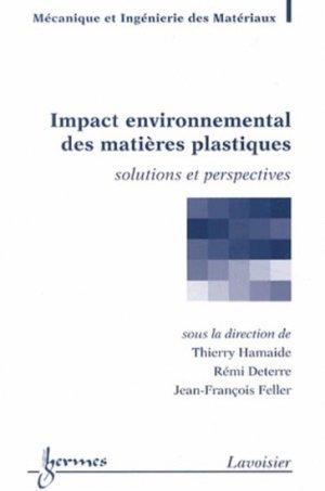 Impact environnemental des matières plastiques - hermès / lavoisier - 9782746245402 -