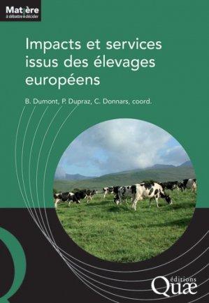 Impacts et services issus des élevages européens - quae - 9782759227044 -