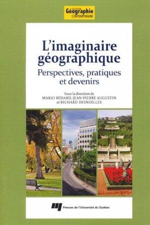 Imaginaire géographique - presses de l'universite du quebec - 9782760532458 -