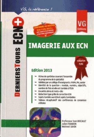 Imagerie aux ECN - vernazobres grego - 9782818308981 -