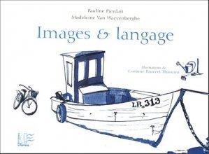 Images et langage - du papyrus - 9782876031593 -