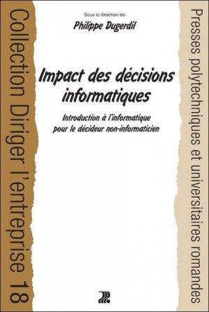 Impact des décisions informatiques - presses polytechniques et universitaires romandes - 9782880746100 -