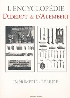 Imprimerie-Reliure - bibliothèque de l'image - 9782914239943 -
