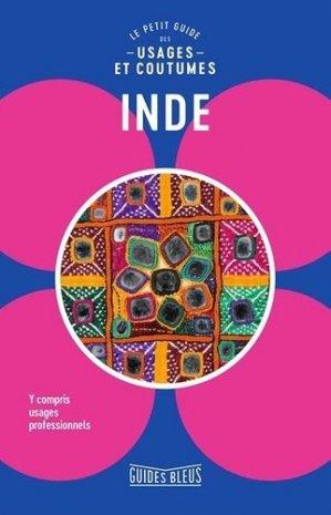 Inde. Le petit guide des usages et coutumes - Hachette - 9782017032427 -