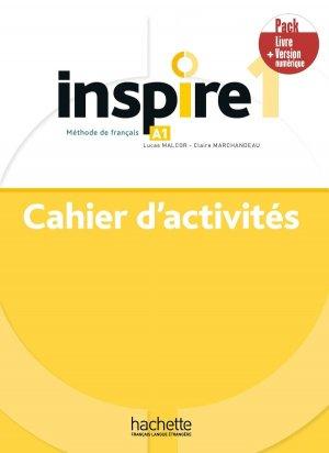 Inspire 1 - Pack Cahier + Version numérique - Hachette Français Langue Etrangère - 9782017141822 -