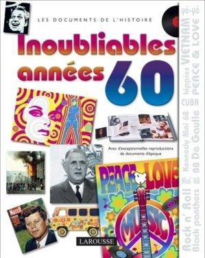 Inoubliables années 60 - Larousse - 9782035861412 -