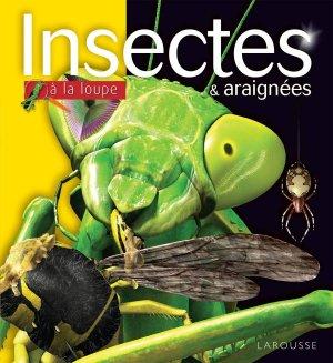 Insectes et araignées à la loupe - larousse - 9782035927606 -
