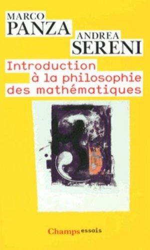 Introduction à la philosophie des mathématiques - flammarion - 9782081270831 -