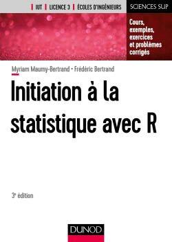 Initiation à la statistique avec R - dunod - 9782100782826 -