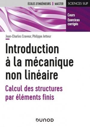 Introduction à la mécanique non linéaire - dunod - 9782100811601 -