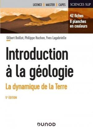 Introduction à la géologie - Dunod - 9782100821860 -