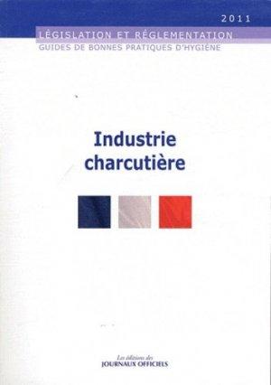 Industrie charcutière - journaux officiels - 9782110766373 -