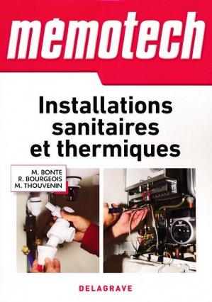 Installations sanitaires et thermiques - casteilla - 9782206101248
