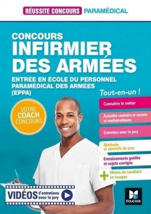 Infirmier des armées - foucher - 9782216156955 -