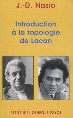 Introduction à la topologie de Lacan - Payot - 9782228904988 -