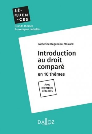Introduction au droit comparé - dalloz - 9782247179213 -