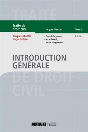 Introduction générale - LGDJ - 9782275064604 -