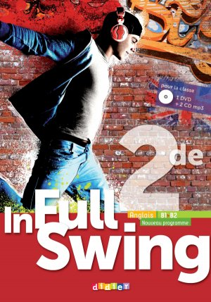 In Full Swing 2de (Ed.2019) - Coffret Classe 2 CD audio + 1 DVD - Didier - 9782278093519 -