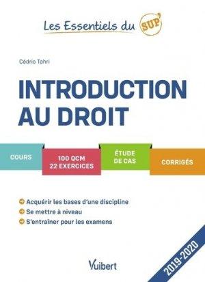 Introduction au droit - Vuibert - 9782311406283 -