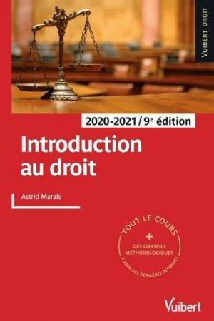 Introduction au droit - vuibert - 9782311407273 -