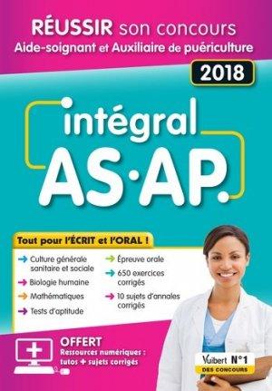 Intégral AS-AP - Tout pour l'écrit et l'oral - estem / vuibert - 9782311660234 -