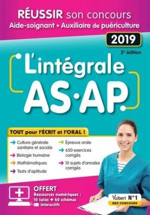 Intégral AS-AP - Tout pour l'écrit et l'oral - estem / vuibert - 9782311660685 -