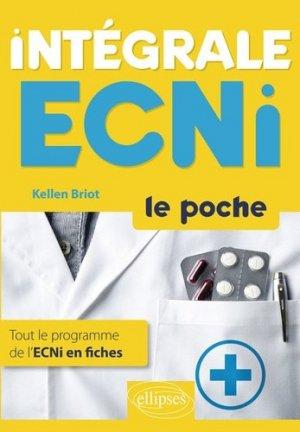 Intégrale ECNI Le poche - ellipses - 9782340022607 -