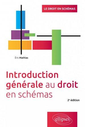 Introduction générale au droit - 2e édition - Ellipses - 9782340040076 -