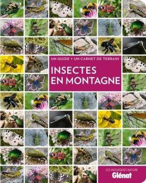 Insectes en montagne - glenat - 9782344001264 -