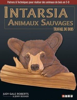 Intarsia. Les animaux sauvages - neva  - 9782350552781 -