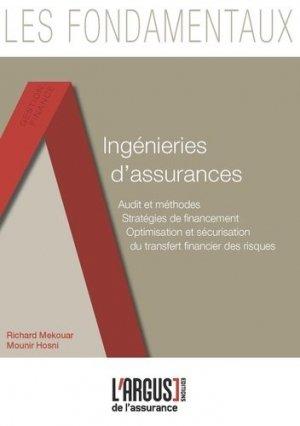 Ingénieries d'Assurances - Groupe Industrie Services Info - 9782354742874 -