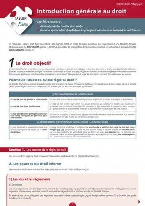 Introduction générale au droit - enrick b - 9782356440273 -