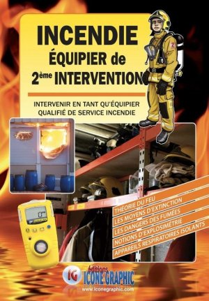 Incendie Equipier de Seconde Intervention - Icone graphic - 9782357386440 -