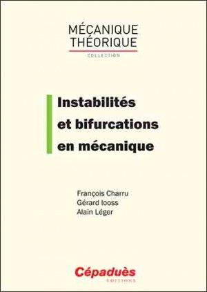 Instabilités et bifurcations en mécanique - cepadues - 9782364936126 -