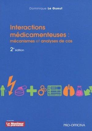 Interactions médicamenteuses - le moniteur des pharmacies - 9782375190418