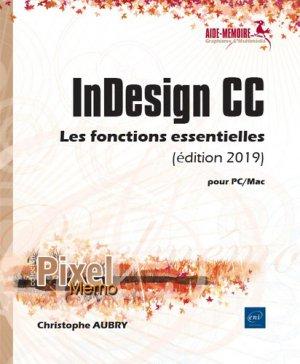 Indesign cc pour pc/mac (edition 2019) - eni - 9782409019012