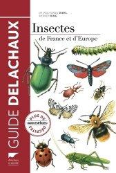 Insectes de France et d'Europe - delachaux et niestle - 9782603020333 -