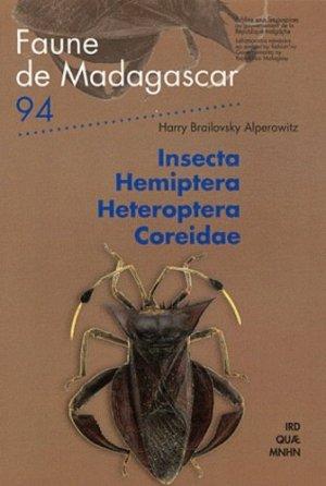 Insecta hemiptera heteroptera coreidae - ird - 9782709917193 -