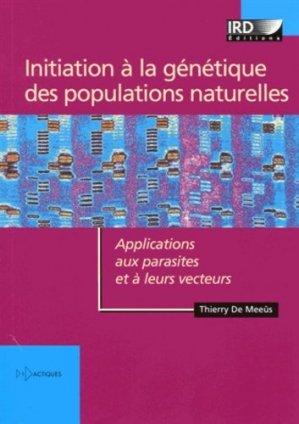 Initiation à la génétique des populations naturelles - ird - 9782709917322