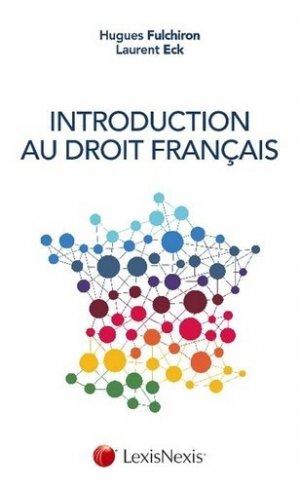 Introduction au droit français - lexis nexis (ex litec) - 9782711025015 -