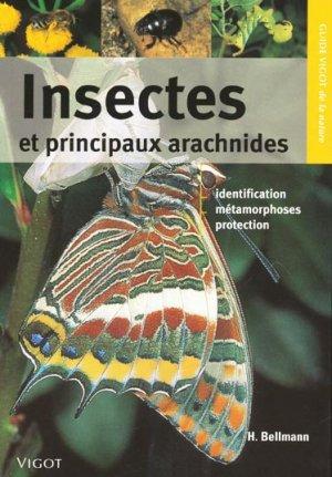 Insectes et principaux arachnides - vigot - 9782711418381 -