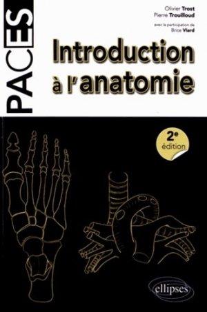 Introduction à l'anatomie - ellipses - 9782729878665 - anatomie, physiologie