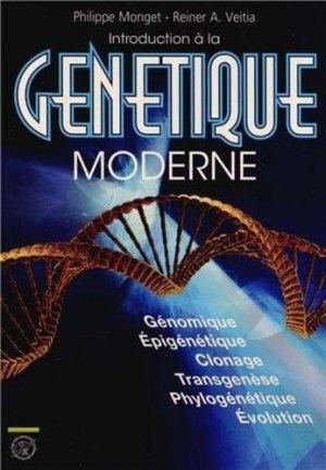 Introduction à la génétique moderne - ecole polytechnique - 9782730216203 -