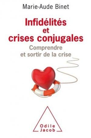 Infidélités et crises conjugales - odile jacob - 9782738138217 -