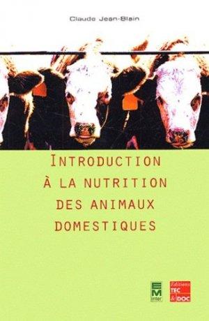Introduction à la nutrition des animaux domestiques - tec et doc / em inter - 9782743005306 -
